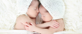 {newborn twins} Noor and Layla Photographed by Ana Brandt