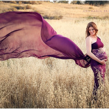 {pregnancy} A Maternity Family Session in the Canyon (+ video)
